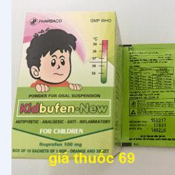 Thuốc Kidbufen-New là thuốc gì? có tác dụng gì? giá bao nhiêu?