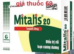 Thuốc Mitalis 20 là thuốc gì? có tác dụng gì? giá bao nhiêu?
