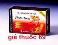 Thuốc Powertona 3g là thuốc gì? có tác dụng gì? giá bao nhiêu?