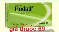 Thuốc Rodatif 30mg là thuốc gì? có tác dụng gì? giá bao nhiêu?