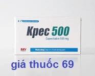 Thuốc Kpec 500 là thuốc gì? có tác dụng gì? giá bao nhiêu?