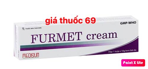 Thuốc FURMET cream 10g là thuốc gì? có tác dụng gì? giá bao nhiêu?