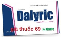 Thuốc Dalyric 75 là thuốc gì? có tác dụng gì? giá bao nhiêu?