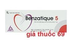 Thuốc Benzatique 5 là thuốc gì? có tác dụng gì? giá bao nhiêu?