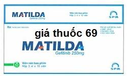 Thuốc Matilda 250mg là thuốc gì? có tác dụng gì? giá bao nhiêu?