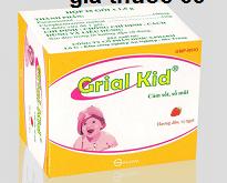 Thuốc Grial- Kid là thuốc gì? có tác dụng gì? giá bao nhiêu?