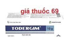 Thuốc Todergim 10g là thuốc gì? có tác dụng gì? giá bao nhiêu?