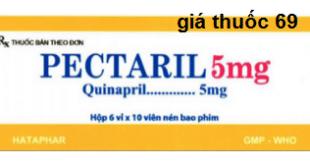 Thuốc Pectaril 5mg là thuốc gì? có tác dụng gì? giá bao nhiêu?