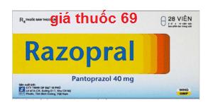 Thuốc Razopral 40 là thuốc gì? có tác dụng gì? giá bao nhiêu?