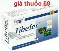 Thuốc Tibefer là thuốc gì? có tác dụng gì? giá bao nhiêu?