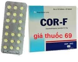 Thuốc Cor-F là thuốc gì? có tác dụng gì? giá bao nhiêu?