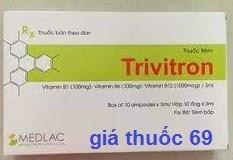 Thuốc Trivitron 3ml là thuốc gì? có tác dụng gì? giá bao nhiêu?