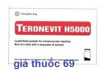 Thuốc Teronevit H5000 là thuốc gì? có tác dụng gì? giá bao nhiêu?