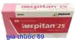 Thuốc Imepitan 25 là thuốc gì? có tác dụng gì? giá bao nhiêu?