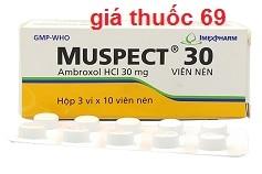 Thuốc Muspect 30 là thuốc gì? có tác dụng gì? giá bao nhiêu?