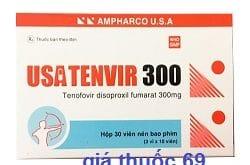 Thuốc Usatenvir 300 là thuốc gì? có tác dụng gì? giá bao nhiêu?