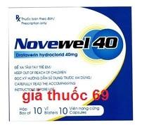Thuốc Novewel 40 là thuốc gì? có tác dụng gì? giá bao nhiêu?