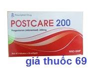 Thuốc Postcare 200 là thuốc gì? có tác dụng gì? giá bao nhiêu?