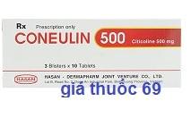 Thuốc Coneulin 500 là thuốc gì? có tác dụng gì? giá bao nhiêu?