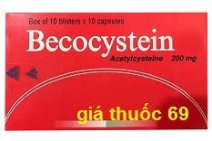 Thuốc Becocystein 200 là thuốc gì? có tác dụng gì? giá bao nhiêu?