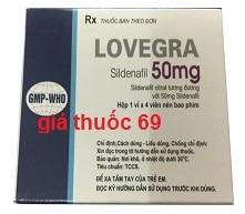 Thuốc Lovegra 50mg là thuốc gì? có tác dụng gì? giá bao nhiêu?
