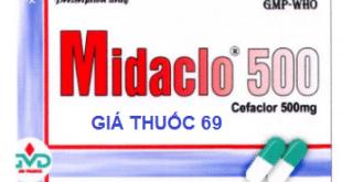 Thuốc Midaclo 500 là thuốc gì? có tác dụng gì? giá bao nhiêu?