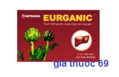 Thuốc Eurganic là thuốc gì? có tác dụng gì? giá bao nhiêu?