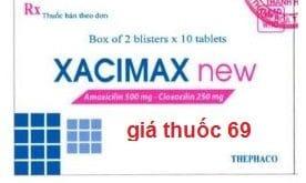 Thuốc Xacimax new là thuốc gì? có tác dụng gì? giá bao nhiêu?