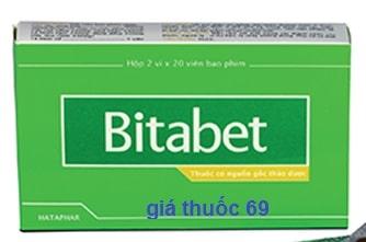 Thuốc Bitabet là thuốc gì? có tác dụng gì? giá bao nhiêu?