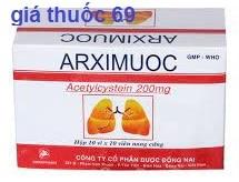 Thuốc Arximuoc 200 là thuốc gì? có tác dụng gì? giá bao nhiêu?