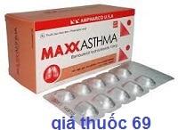 Thuốc Maxxasthma 10 là thuốc gì? có tác dụng gì? giá bao nhiêu?