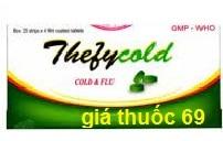 Thuốc Thefycold 500 là thuốc gì? có tác dụng gì? giá bao nhiêu?
