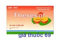 Thuốc Theresol là thuốc gì? có tác dụng gì? giá bao nhiêu?