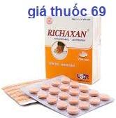 Thuốc Richaxan là thuốc gì? có tác dụng gì? giá bao nhiêu?