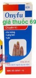 Thuốc Onyfu 20ml là thuốc gì? có tác dụng gì? giá bao nhiêu?