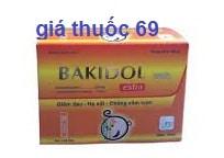 Thuốc Bakidol Extra là thuốc gì? có tác dụng gì? giá bao nhiêu?