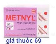 Thuốc Metnyl 500 là thuốc gì? có tác dụng gì? giá bao nhiêu?