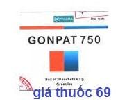 Thuốc Gonpat 750 là thuốc gì? có tác dụng gì? giá bao nhiêu?