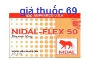 Thuốc Nidal-Flex 50 là thuốc gì? có tác dụng gì? giá bao nhiêu?