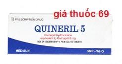 Thuốc Quineril 5 là thuốc gì? có tác dụng gì? giá bao nhiêu?