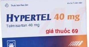 Thuốc Hypertel 40 là thuốc gì? có tác dụng gì? giá bao nhiêu?