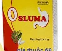 Thuốc Osluma gói 8g là thuốc gì? có tác dụng gì? giá bao nhiêu?