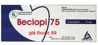 Thuốc Beclopi 75 là thuốc gì? có tác dụng gì? giá bao nhiêu?