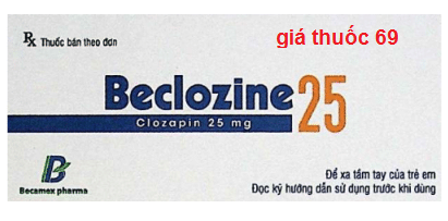 Thuốc Beclozine 25 là thuốc gì? có tác dụng gì? giá bao nhiêu?