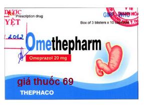 Thuốc Omethepharm 20 là thuốc gì? có tác dụng gì? giá bao nhiêu?