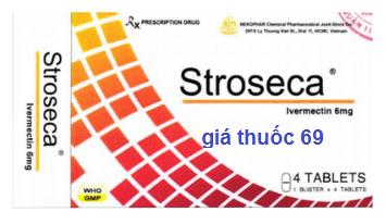 Thuốc Stroseca 6mg là thuốc gì? có tác dụng gì? giá bao nhiêu?