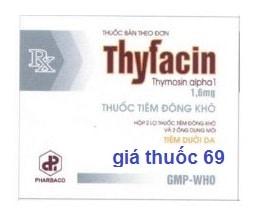 Thuốc Thyfacin 1,6mg là thuốc gì? có tác dụng gì? giá bao nhiêu?