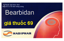 Thuốc Bearbidan là thuốc gì? có tác dụng gì? giá bao nhiêu?