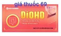 Thuốc Diohd là thuốc gì? có tác dụng gì? giá bao nhiêu?