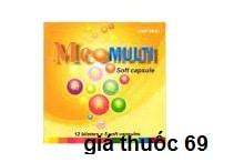 Thuốc Meomulti là thuốc gì? có tác dụng gì? giá bao nhiêu?